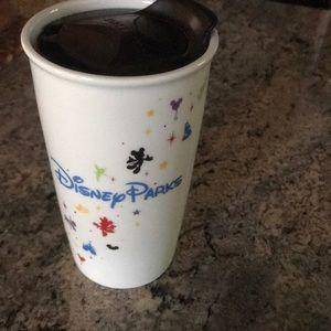 Starbucks Disney park travel mug